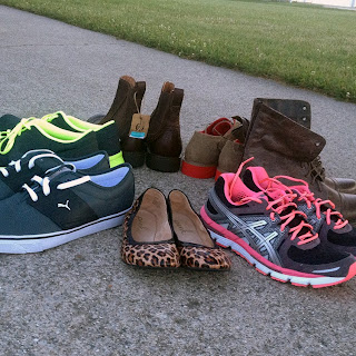 ... shoe haul! Good quality shoes. Discount prices. It takes some hunting