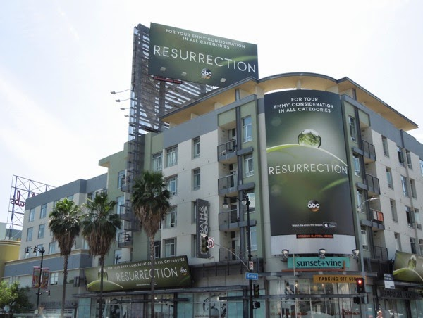 Resurrection season 1 Emmy 2014 billboard