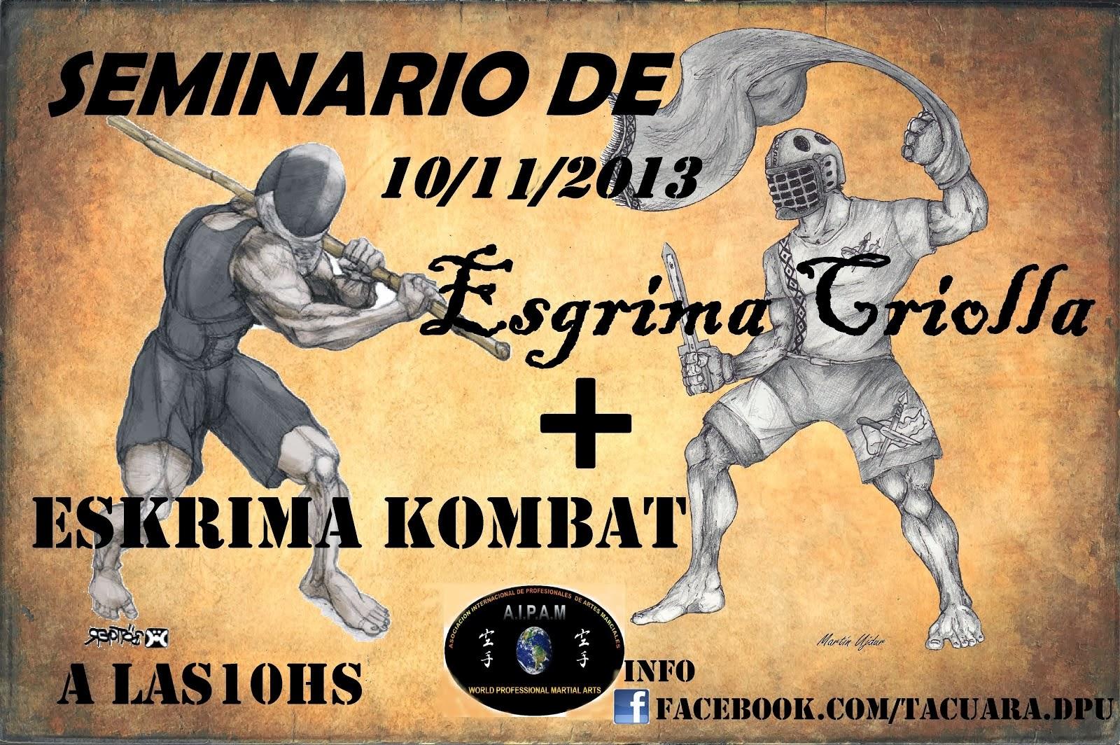 Seminario de Esgrima Criolla (10-11-20113)