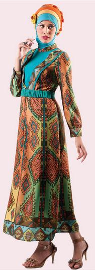 Batik Semarang Contoh Model Baju Batik Muslim untuk Remaja