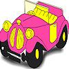 pink-old-car-coloring-carro-colorir