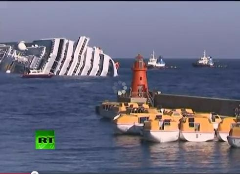 Italian Luxury Cruise Ship Sinking  All About News N Scandals