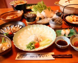 花田虎上さんが召し上がった   「若狭ふぐ豪華フルコース」
