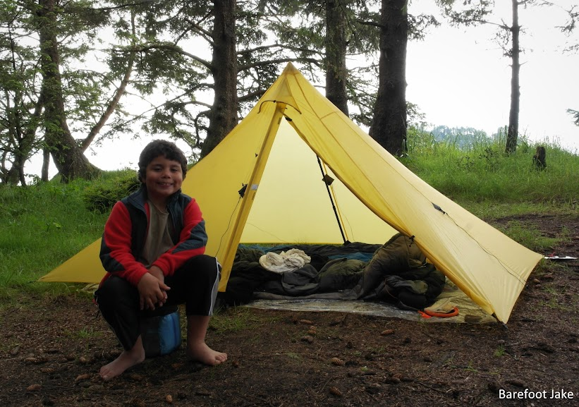 Ultralight family backpacking