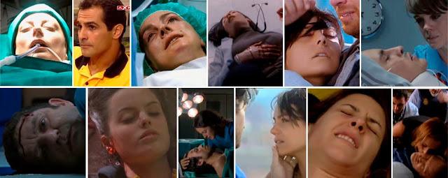 Laura, Waldo, Cecilia, Cristina, Lola, Vilches, muerte HC