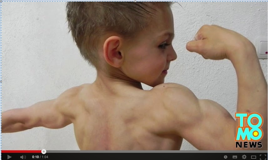 World'sYoungest Bodybuilders: 7 And 9 Years Old