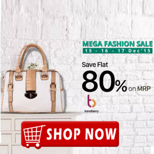 PayTM : Trend Berry Handbags & Clutches 70% off + 30% cashback on Rs. 299