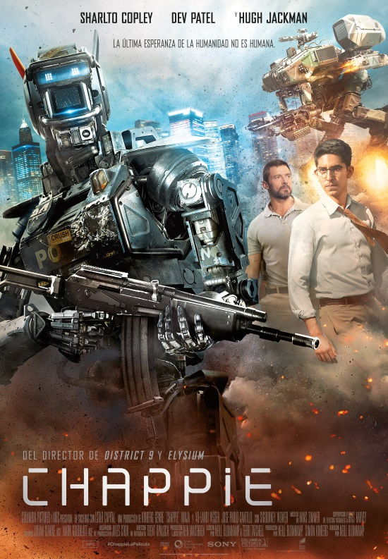 CHAPPIE, PÓSTER FINAL