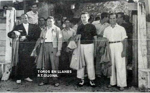 TOREROS EN LLANES