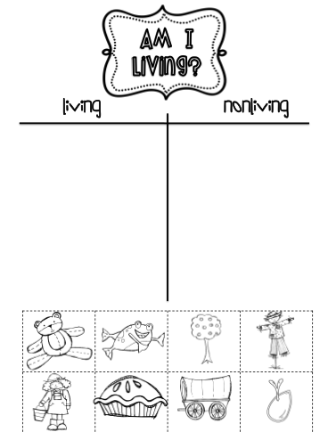 Worksheets Living And Nonliving Worksheets living and nonliving worksheets abitlikethis sided so each student does a page about things