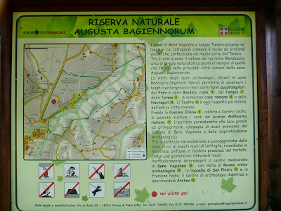 Informational Signs from Augusta Bagiennorum
