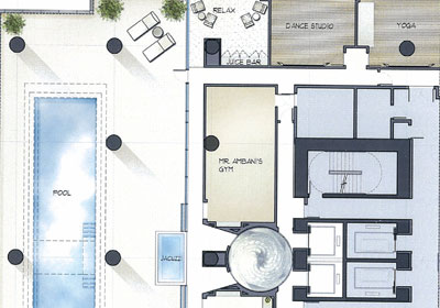 Ngozi gold the world 39 s first billion dollar home be for Juice bar floor plan