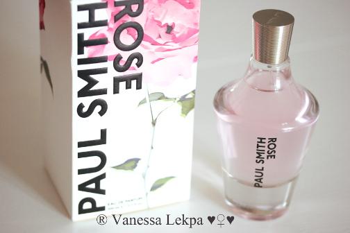 avis critique parfum paul smith rose vanessa lekpa