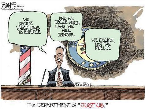 Holder Just us department