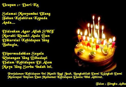 ucapan selamat ulang tahun lengkap