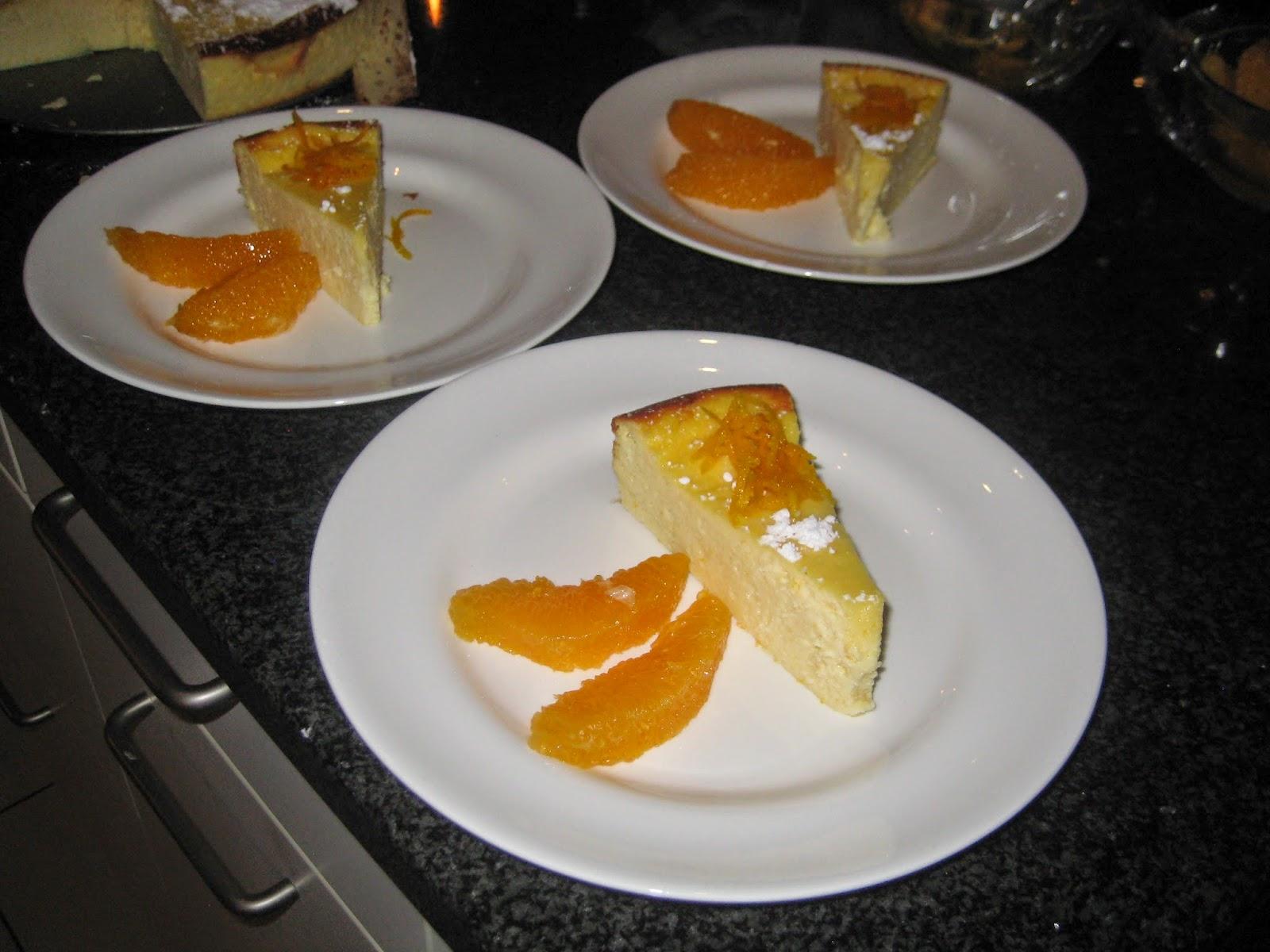 Laura's Gourmandises: Orange blossom-flavored ricotta cheesecake