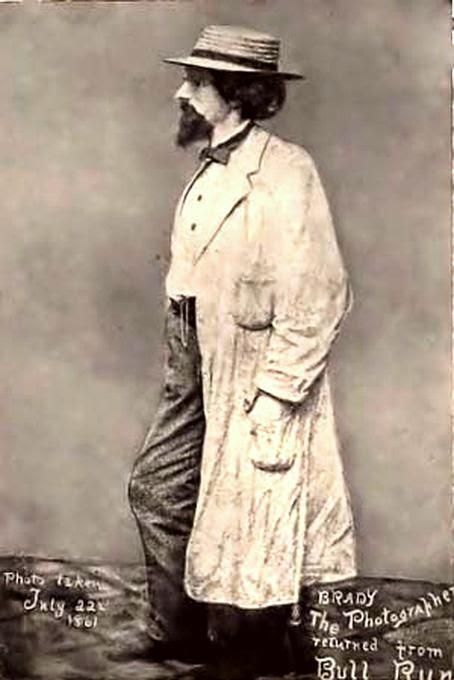 Mathew Brady after the Battle of Bull Run