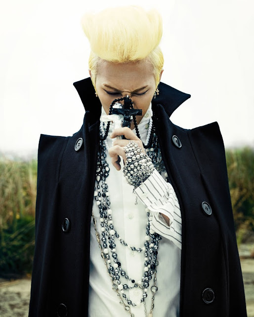 An Ode to G-Dragon's best hairstyles in 2012