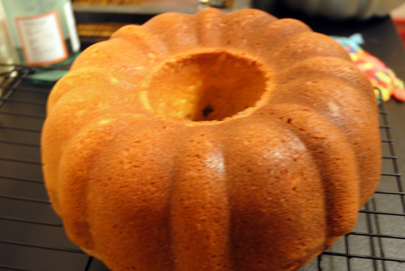 Something Sweet: Chocolate Orange Bundt Cake