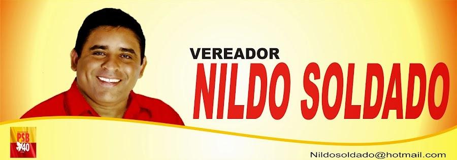 Vereador Nildo Soldado