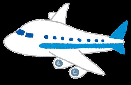 飛行機・ジャンボジェットのイラスト