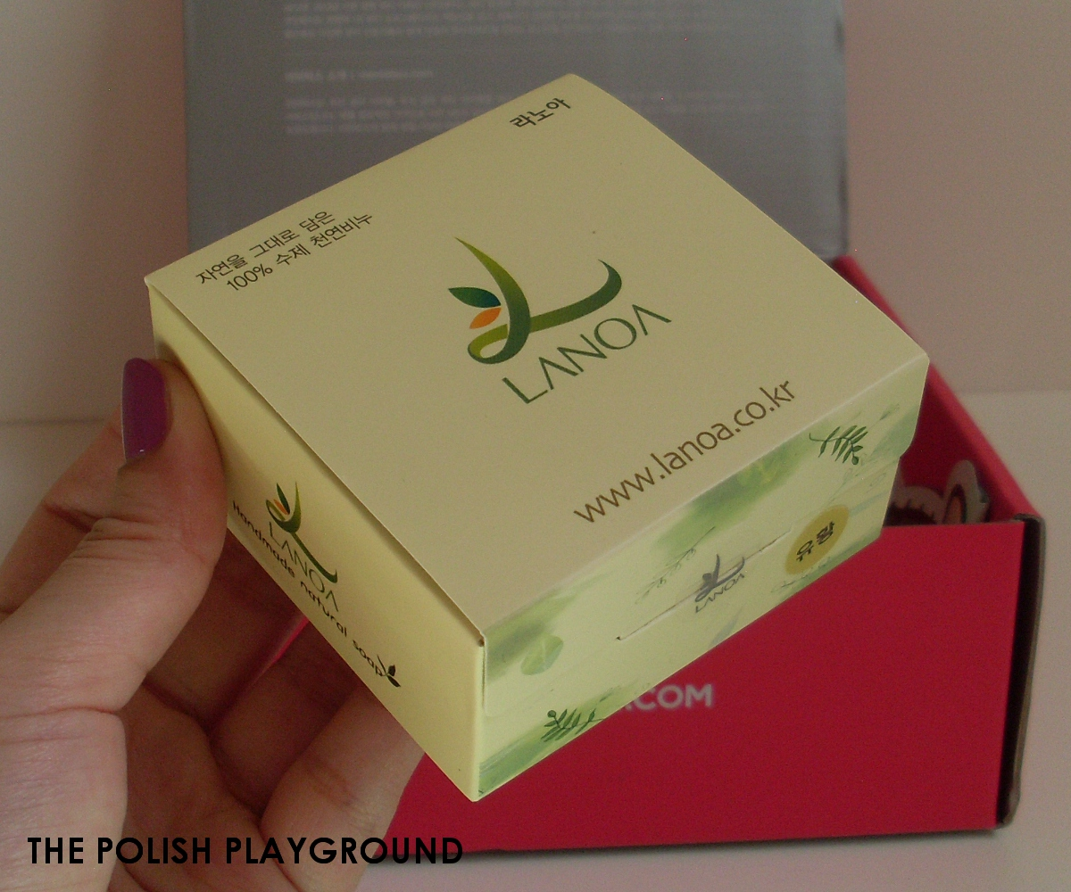 Memebox Luckybox #3 Unboxing - Lanoa Natural Soap Sulfur