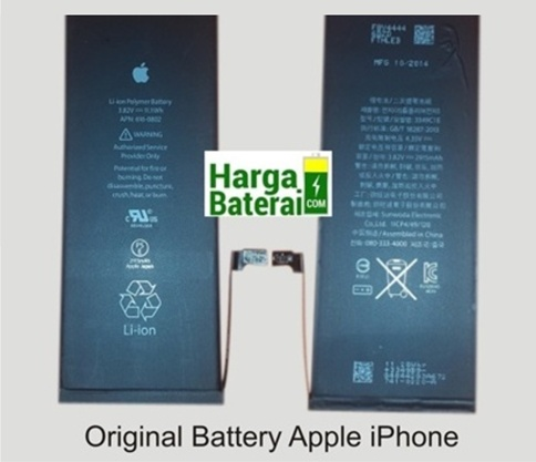 Daftar harga baterai Original iPhone Terbaru