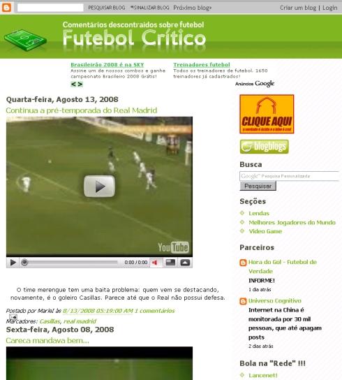 Visite Futebol Crítico