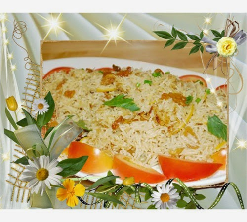 Tumis-tumis Ramadan Chef Sabri - Nasi Lemon, Ayam Masak Madu, Jus Epal Pegaga Limau Kasturi