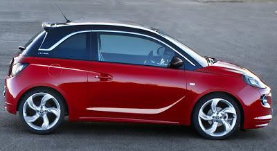 Noul Opel Adam