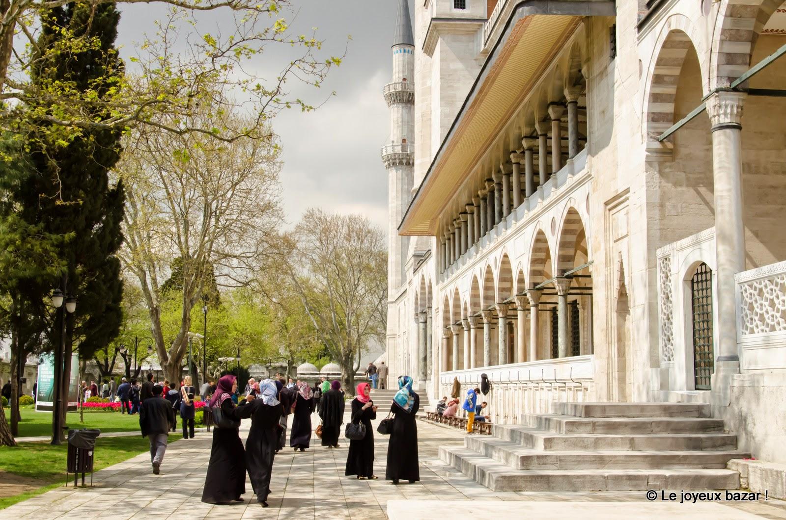 Istanbul - Mosquée de Soliman le Magnifique