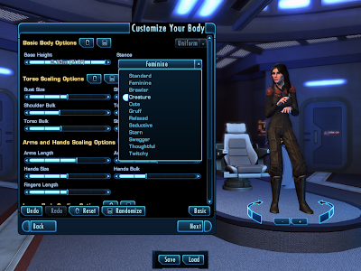 Star Trek Online - Customize Body Advanced