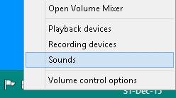 setting speaker