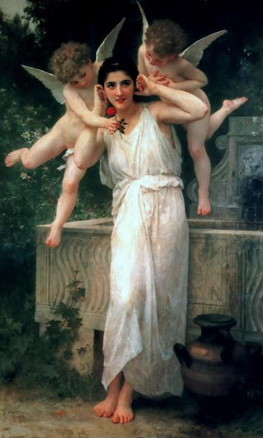 youth,William Adolphe Bouguereau,Cupid