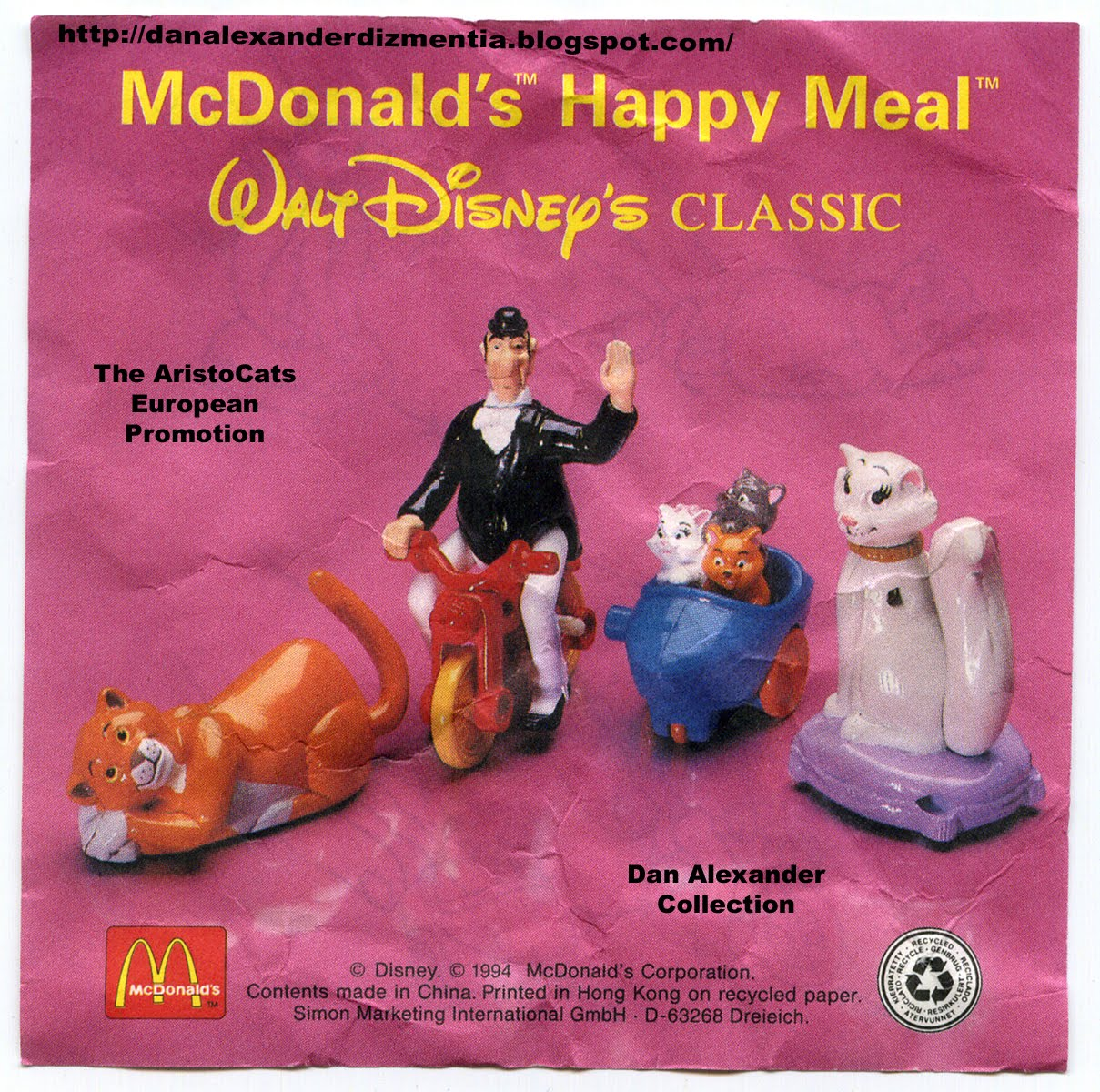 meal toys little mermaid mcdonalds happy connect with and motorcycle his in sidecar. Edgar Kittens the the