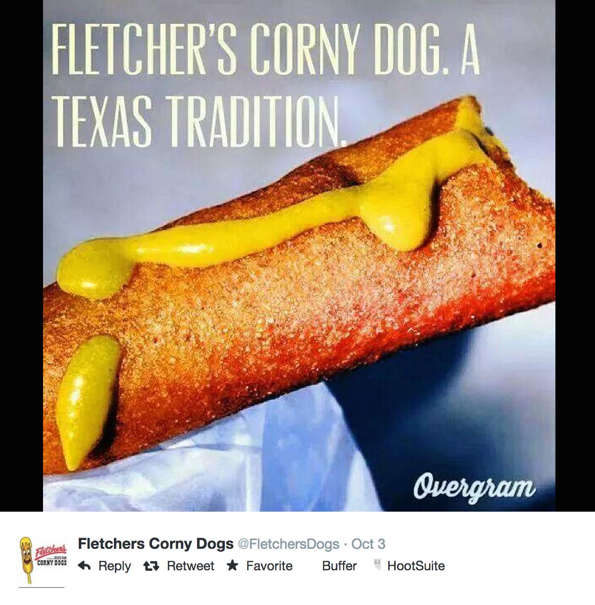 Fletchers Corny Dog, 2014 State Fair of Texas