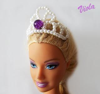 biżuteria dla barbie