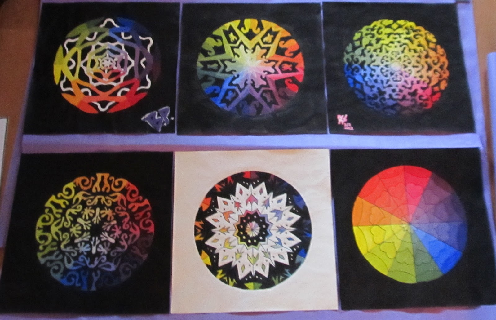 Creative Color Wheel Paintings Color Wheels Creative Color