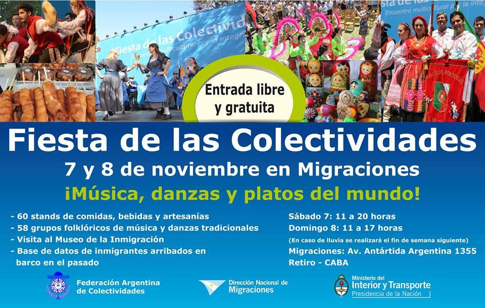 FIESTA DE LAS COLECTIVIDADES EN LA CIUDAD DE BUENOS AIRES