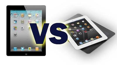 switching from iPad 3 to iPad mini