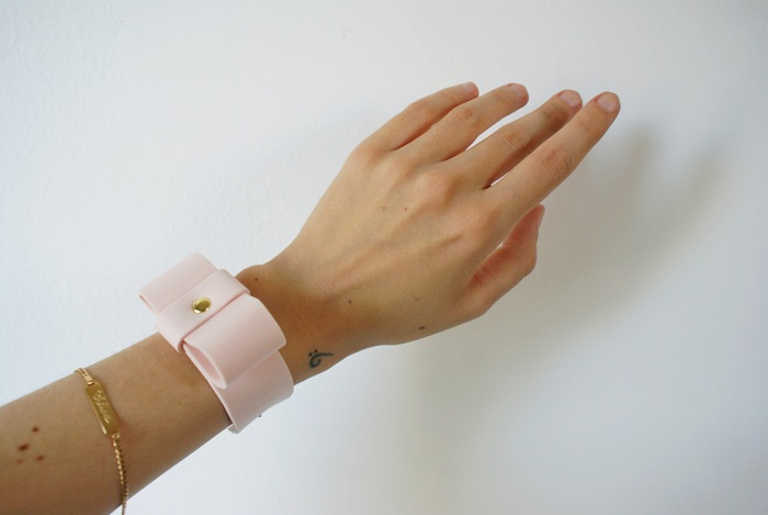 bow bracelet diy bracciale fiocco