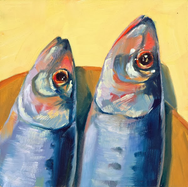 Brenda ferguson fish out of water for Fish out of water watercolor
