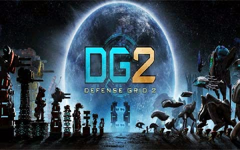 غلاف لعبة شبكة الدفاع Defense grid 2