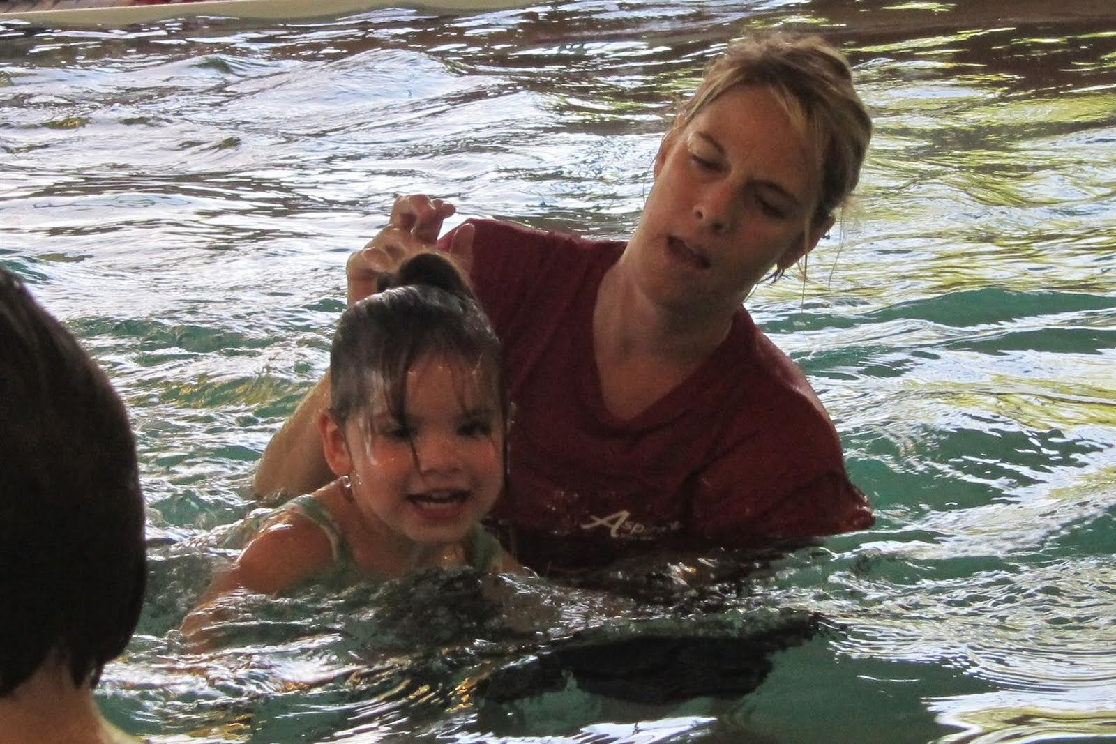 adventures with twins swim lessons