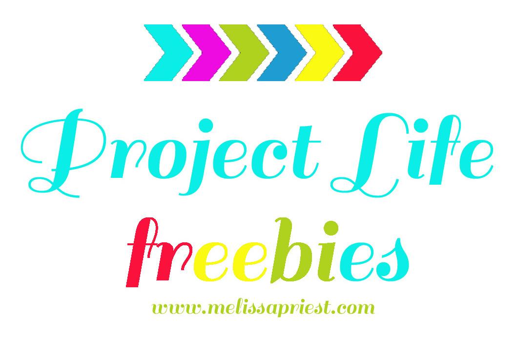 Freebies project life