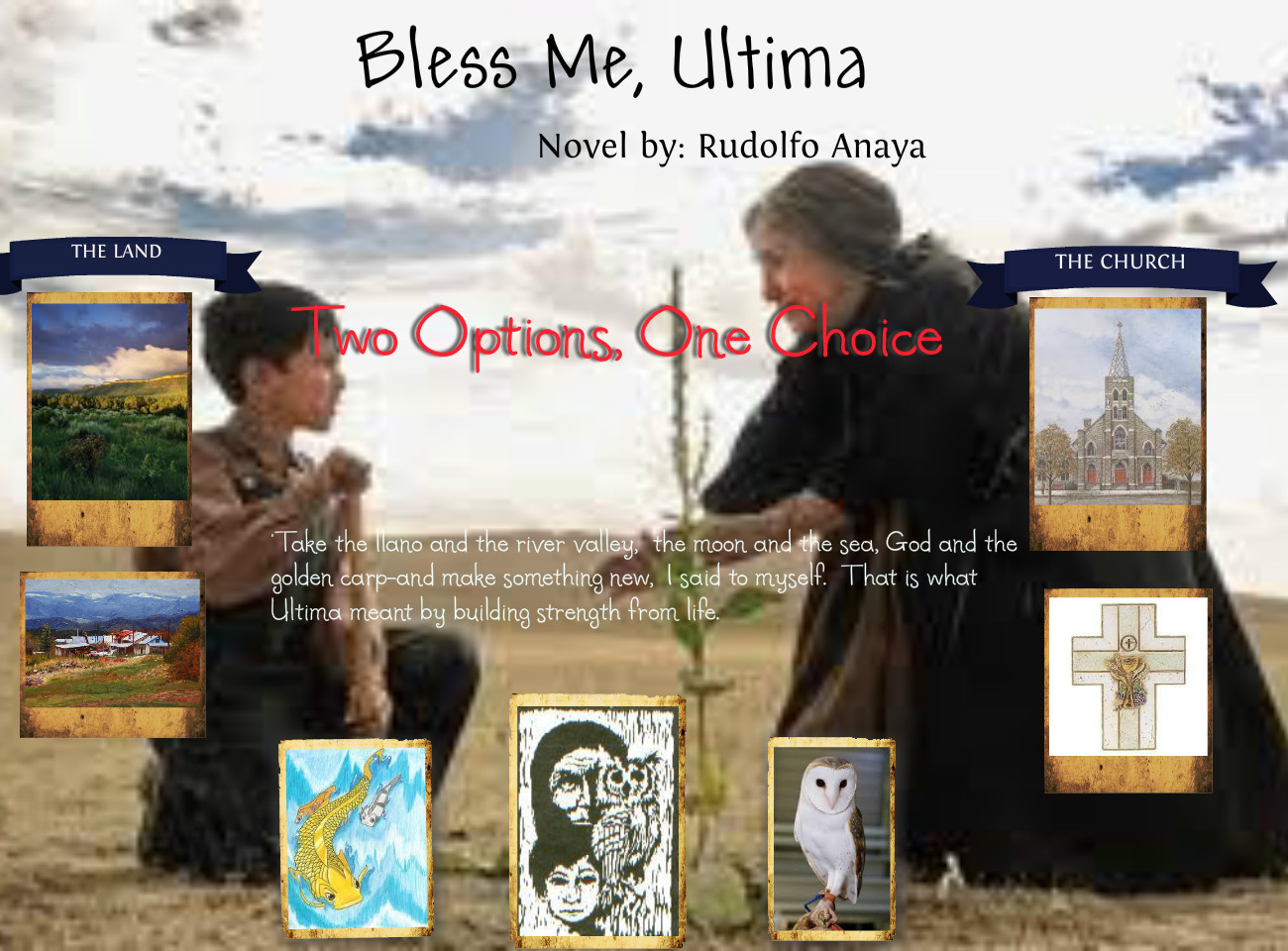 a book review of bless me ultima Rudolpho anaya's 1972 novel bless me, ultima is a classic of chicano literature the story begins for antonio, 6, when ultima comes to live with his new mexico family.