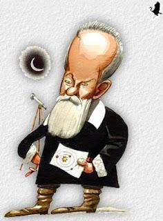 Galileu teve de enfrentar a Santa Inquisição por dizer que a Terra gira em torno do sol