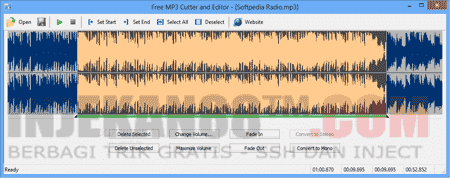 Software Edit MP3 : Free MP3 Cutter and Editor 2.7.0.18 Gratis