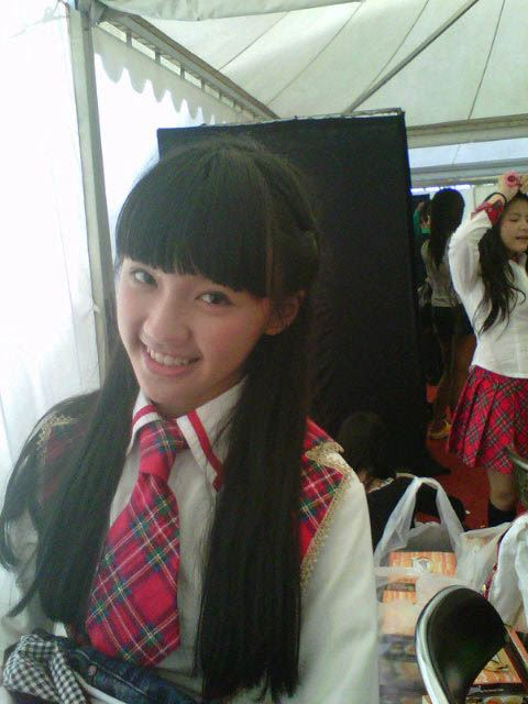 Cindy gulla di backstage