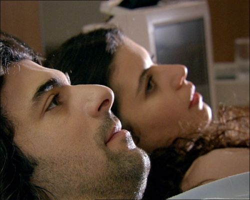 Fatmagul and karim kissing and love making bed scene